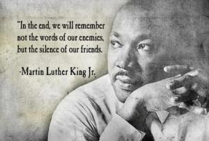 Speak no evil, Speak against it..