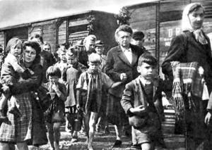 European refugees WOII